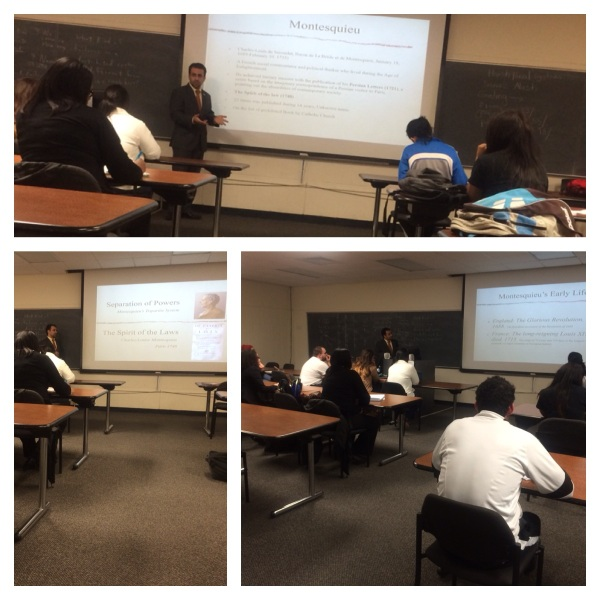 Amir teaching at Texas State University (2)