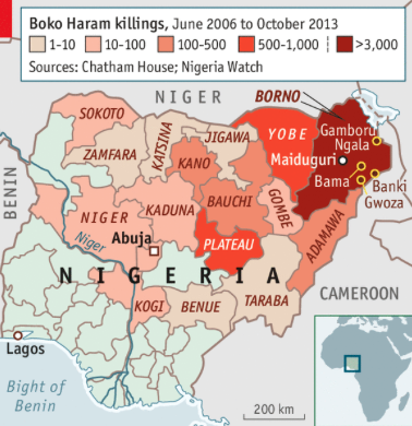 Boko Haram violently opposes western education and has spread into Northern Cameroon.